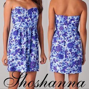 ANTHROPOLOGIE -SHOSHANNA Julieanne Strapless Dress
